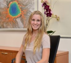 Catharine, a patient with USC Roski Eye Institute
