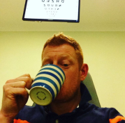 Another session at the opticians trying out lenses #keratoconus #worldkcday
