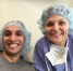 Dr. Anita Miedziak from the Princeton Eye group with a patient.