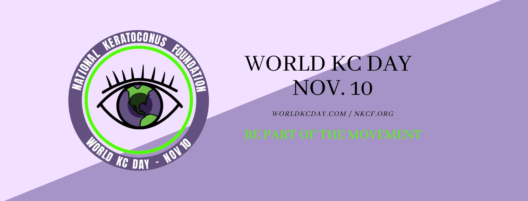 world kc day banner purple